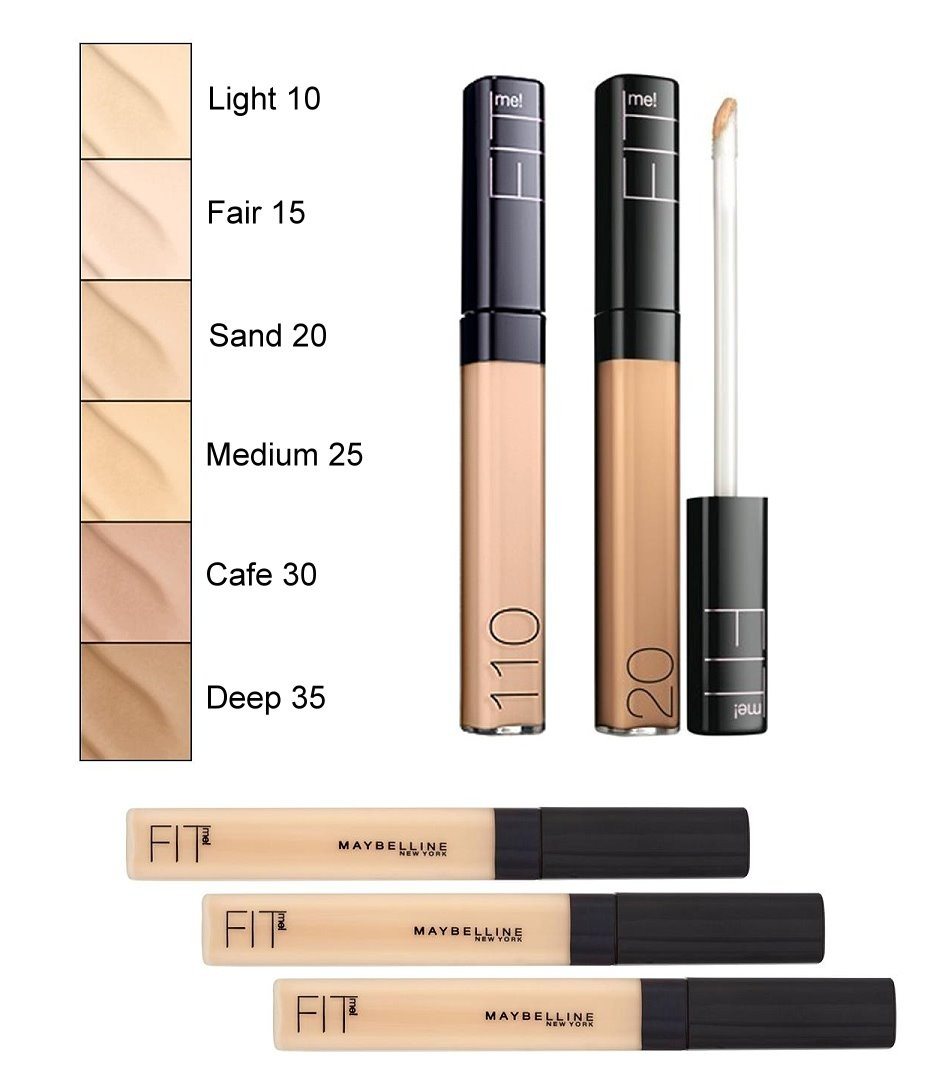 Maybelline Fit Me concealer• my favourite drugstore