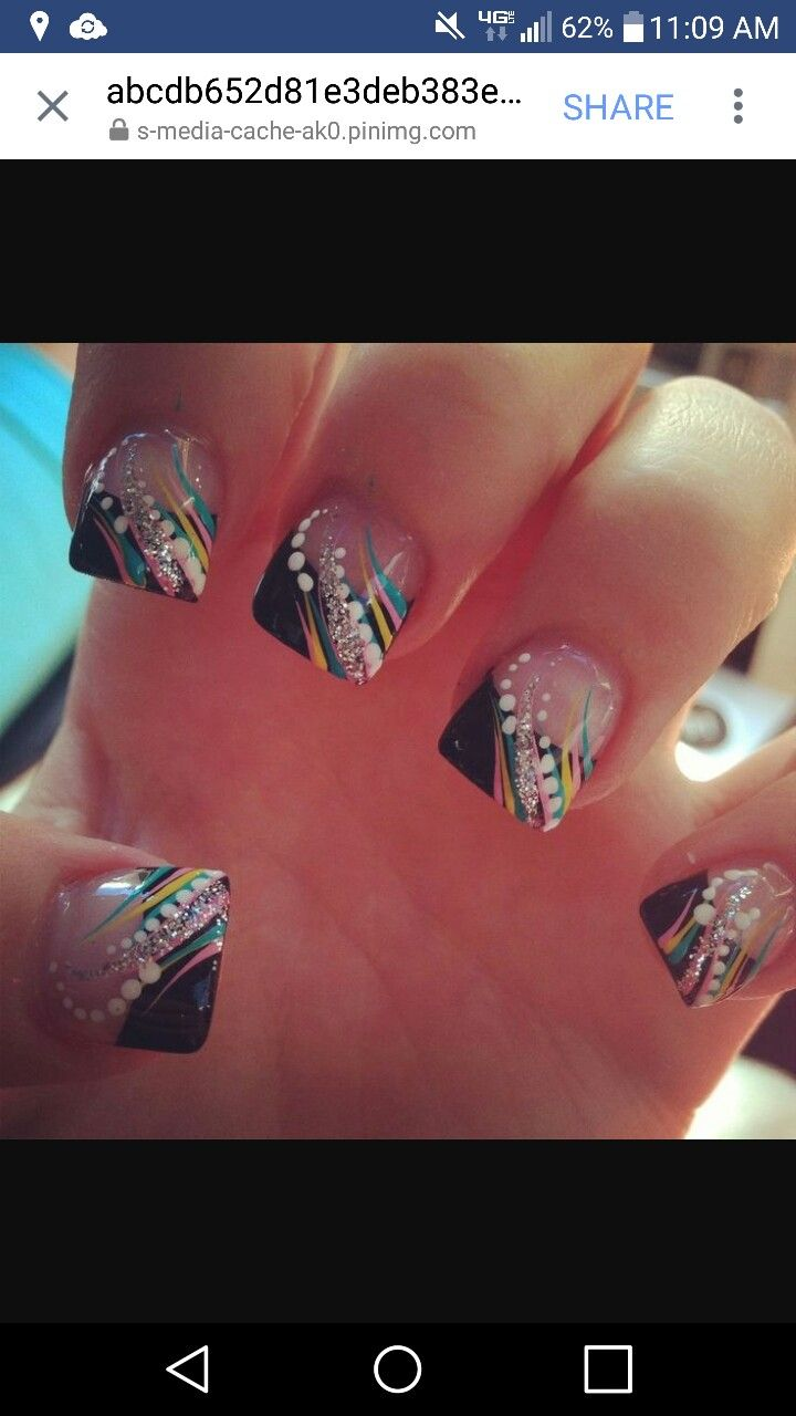 Pin by Dee Dee on Nails   Pinterest   Acrylic nail art, Gorgeous ...