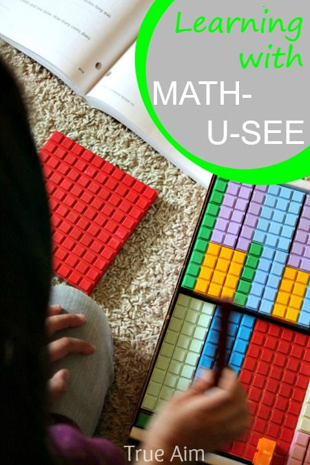 Giveaway Hands On Math Curriculum With Math U See True Aim Math U See Math Curriculum Math For Kids