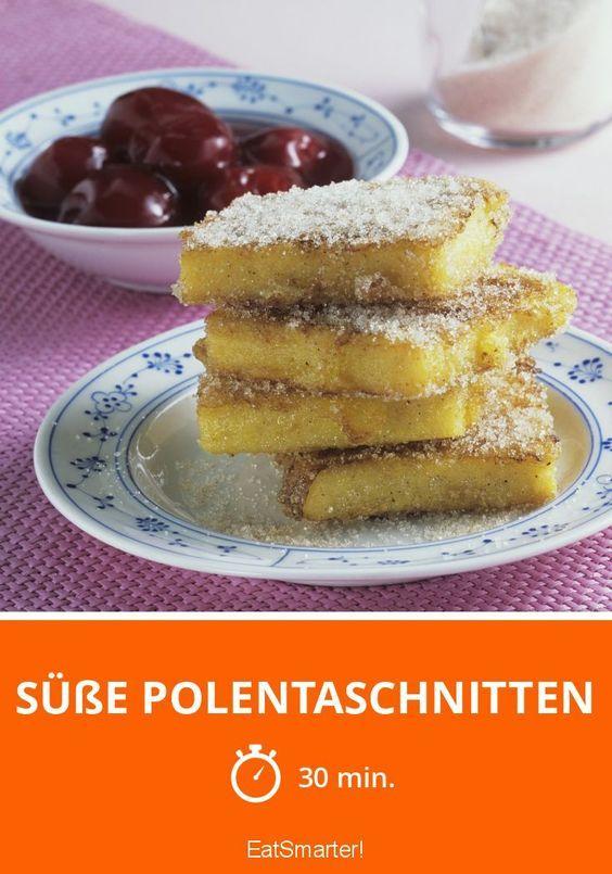 Süße Polentaschnitten - smarter - Zeit: 30 Min. | eatsmarter.de