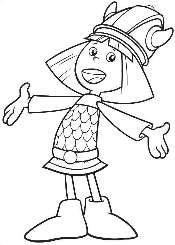 wickie 12 ausmalbilder für kinder malvorlagen zum