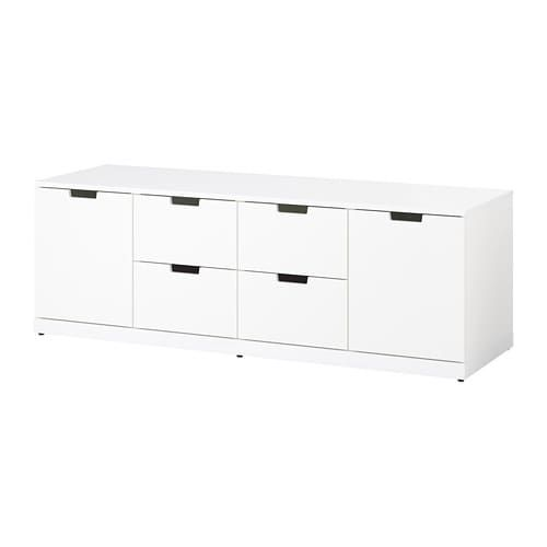 Best Nordli 6 Drawer Dresser White 63X21 1 4 Wardrobe 400 x 300