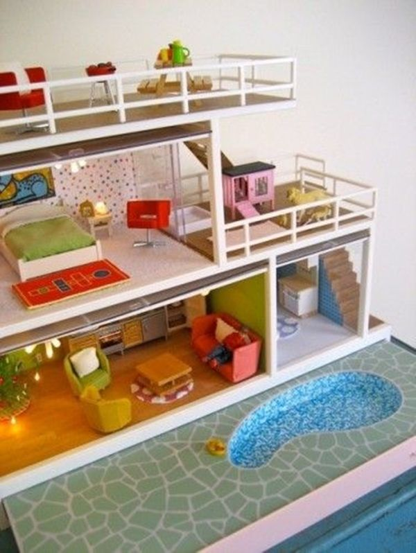 40 Best Dollhouse Installations For Your Kids Doll House Plans Barbie House Diy Barbie House