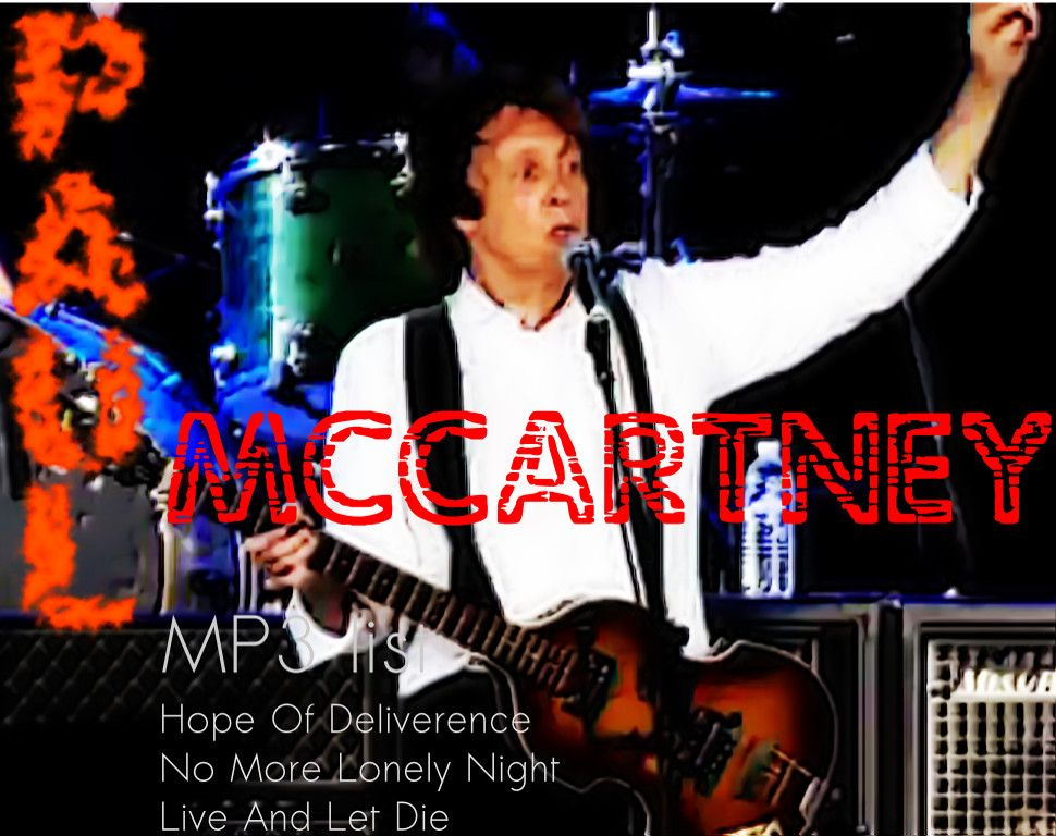MP3 List Paul McCartney