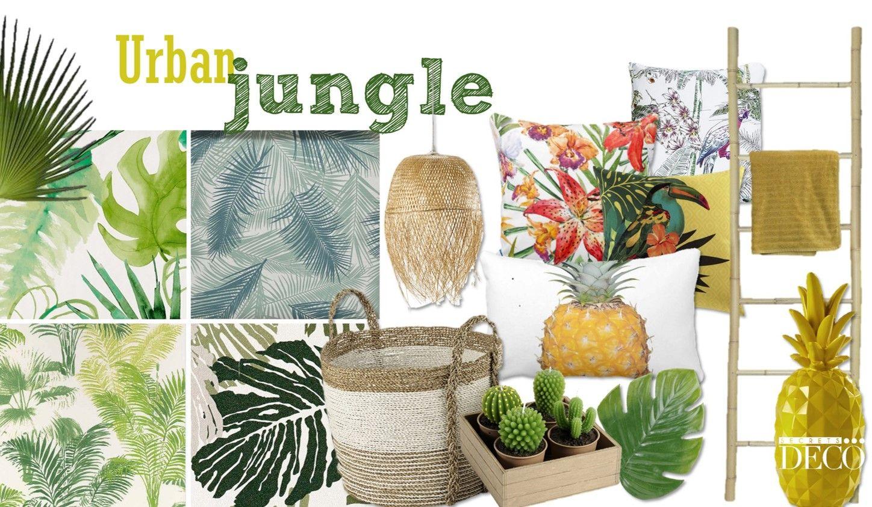 urban jungle planche ambiance d co by secrets d co urban jungle pinterest ambiance deco. Black Bedroom Furniture Sets. Home Design Ideas