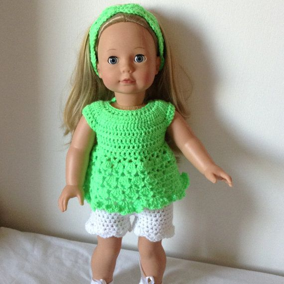 PDF Crochet pattern for 18 inch doll, American Girl Doll or Gotz ...