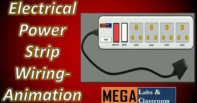 Fantastic Power Strip Wiring Animation Electrical Wiring Animation Extension Wiring 101 Capemaxxcnl