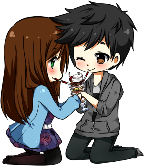 Download And Share Clipart About Anime Love Couple Png Photo Anime Love Chibi Find More Cute Couple Pictures Cartoon Cute Chibi Cute Couple Pictures Tumblr