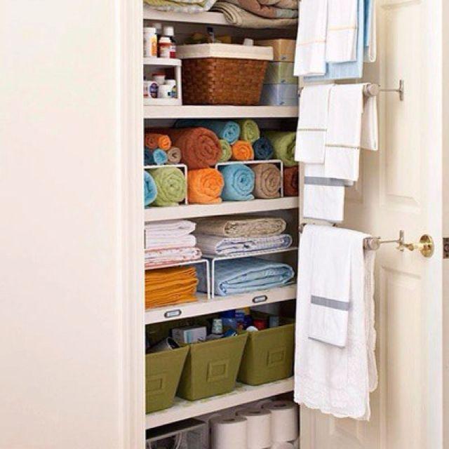 Organizing Your Linen Closet Linen closet organization