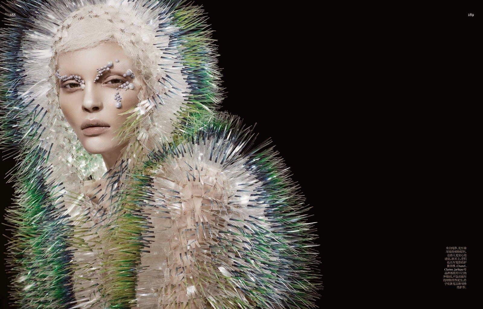 Kate Bogucharskaia By David Dunan For Vogue China April