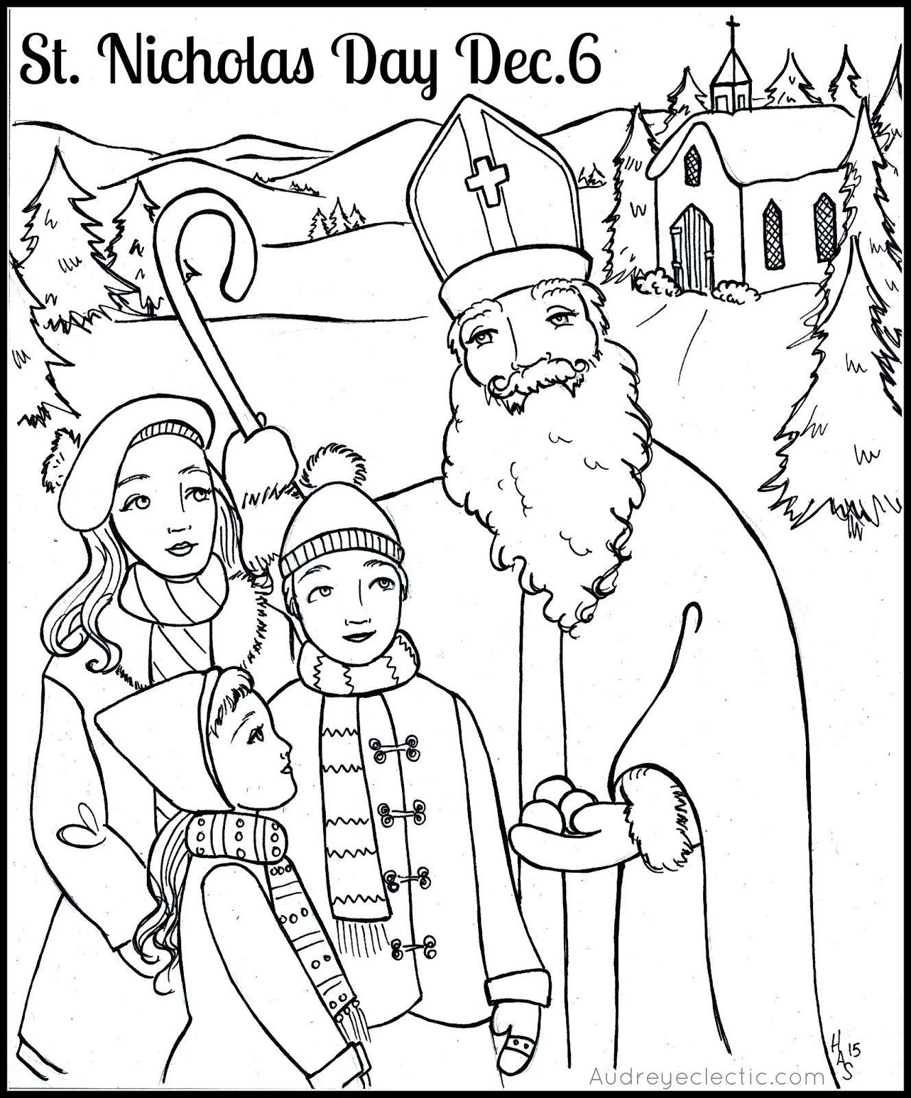 Printables St Nicholas Day Saint Nicholas