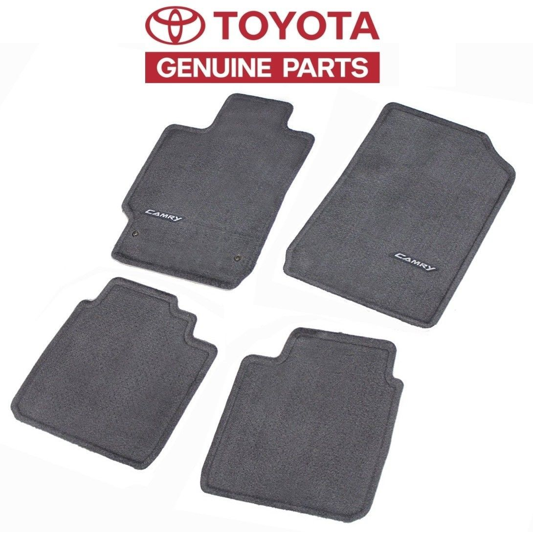 Cool Great Toyota Camry 2007 2017 Gray Ash Carpet Floor Mats 4pc Set