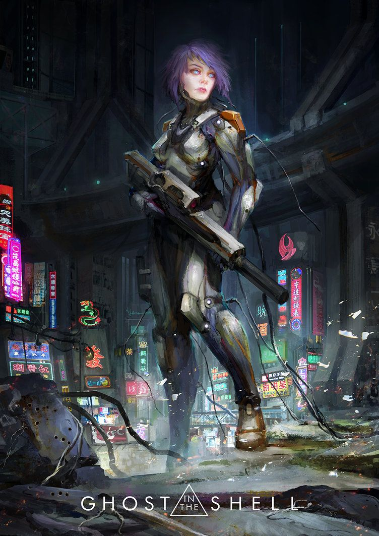 Kusanagi by on DeviantArt