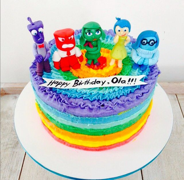 birthday cake ideas inside out Birthday cakes Cake and Birthdays