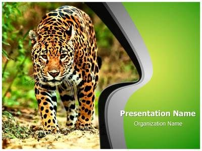 Jaguar Powerpoint Template is one of the best PowerPoint templates - nature powerpoint template