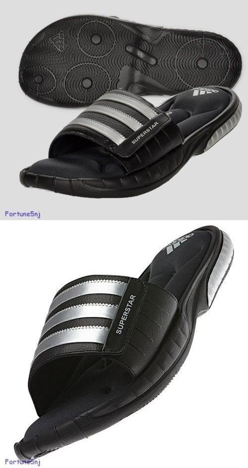 sandali e le infradito 11504: adidas uomini s superstar 3g soft diapositive