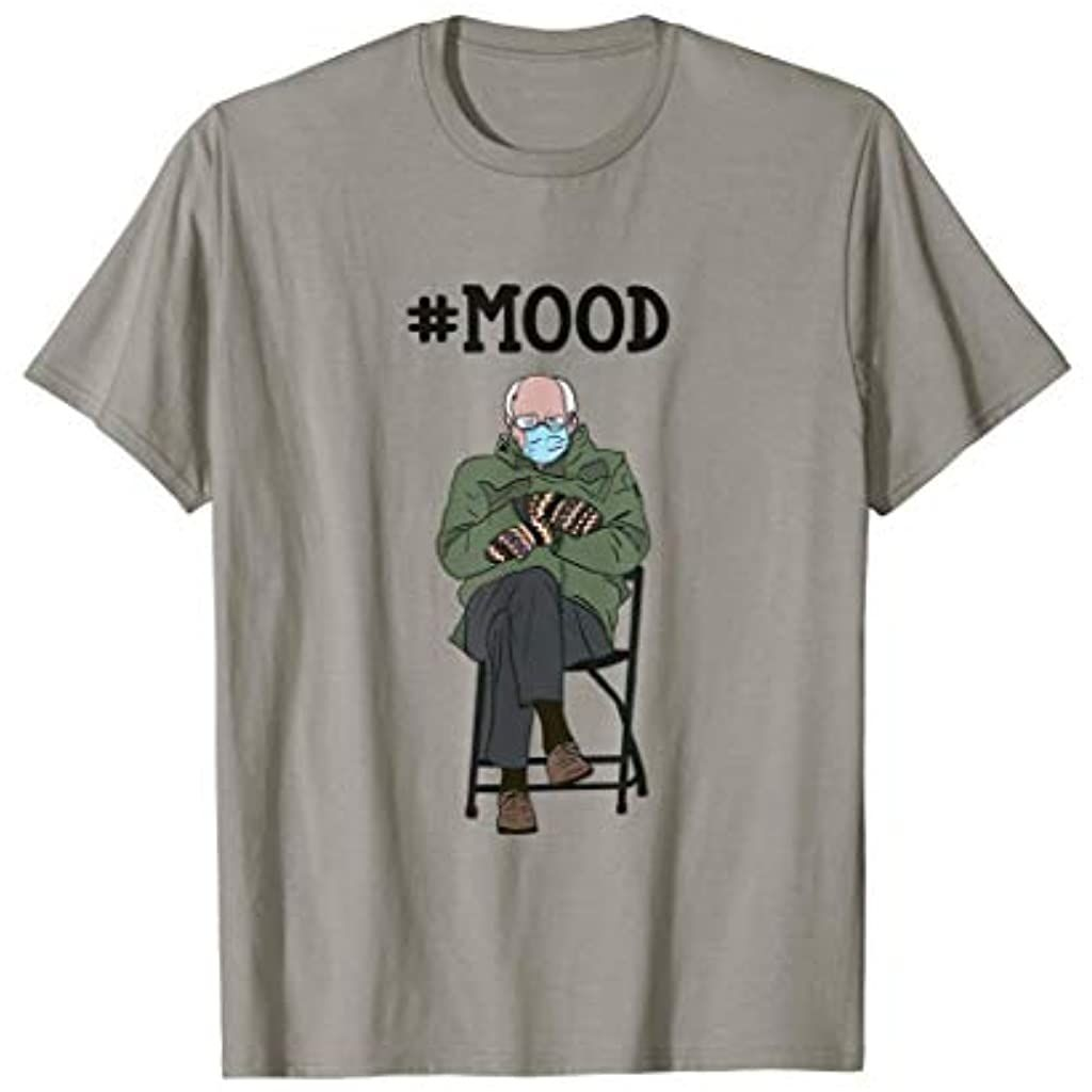 Funny Meme Mittens Bernie Sanders Mittens Mood T Shirt In 2021 Funny Memes Funny Stickers Shirts