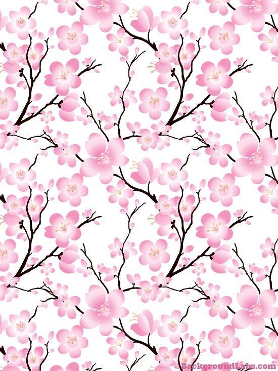 Cherry Blossom Seamless Background Background Labs Cherry Blossom Wallpaper Cherry Blossom Background Blossoms Art
