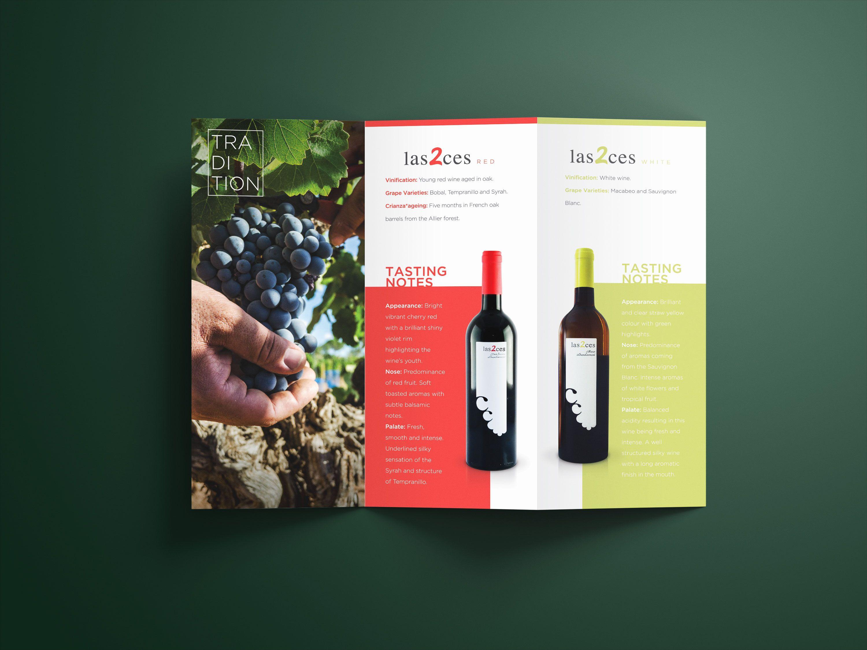 Chozas Carrascal Tri Fold Brochure Brochure Design Trifold Brochure Design Brochure