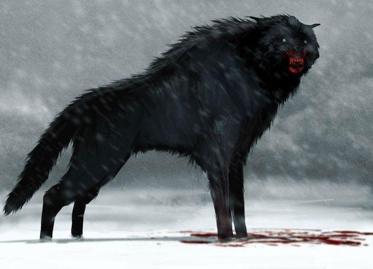 Beware of wolf.