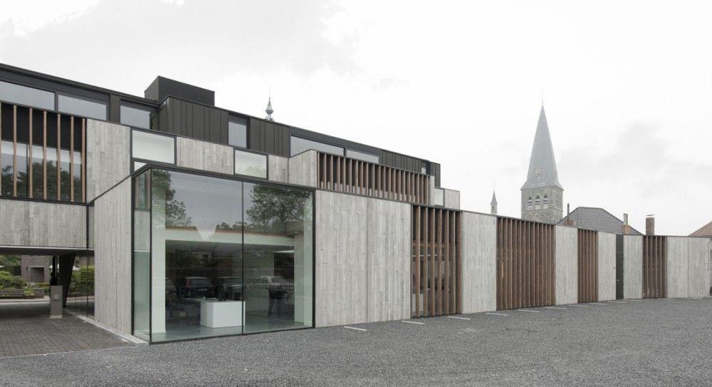 GRAUX architecten - Office Solvas, Zomergem, #Belgium (2012) #architecture #offices