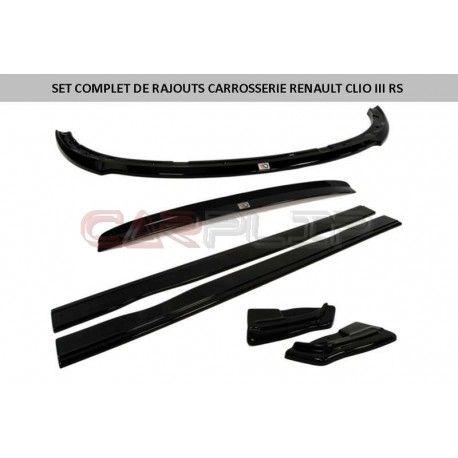 set rajouts kit carrosserie clio 3 rs accessoires. Black Bedroom Furniture Sets. Home Design Ideas
