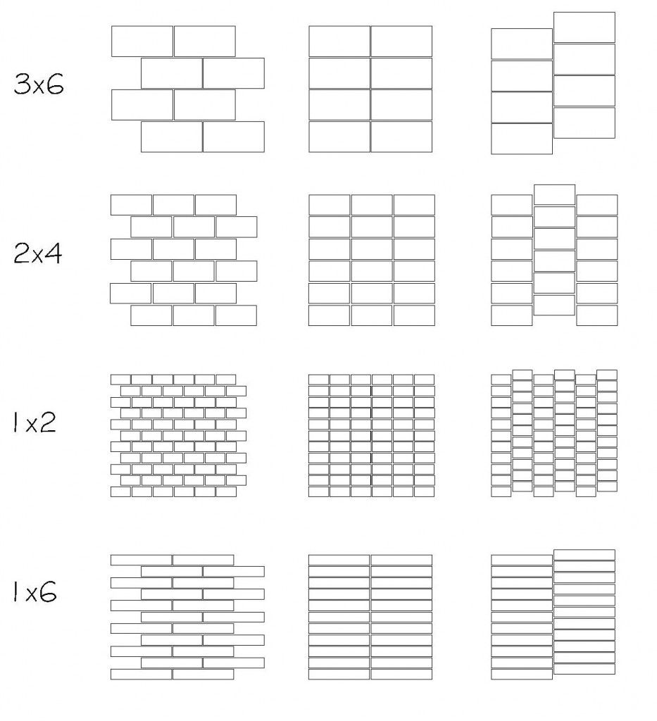 Laneva Span Collection Rectangular Field Tile Layouts Tile