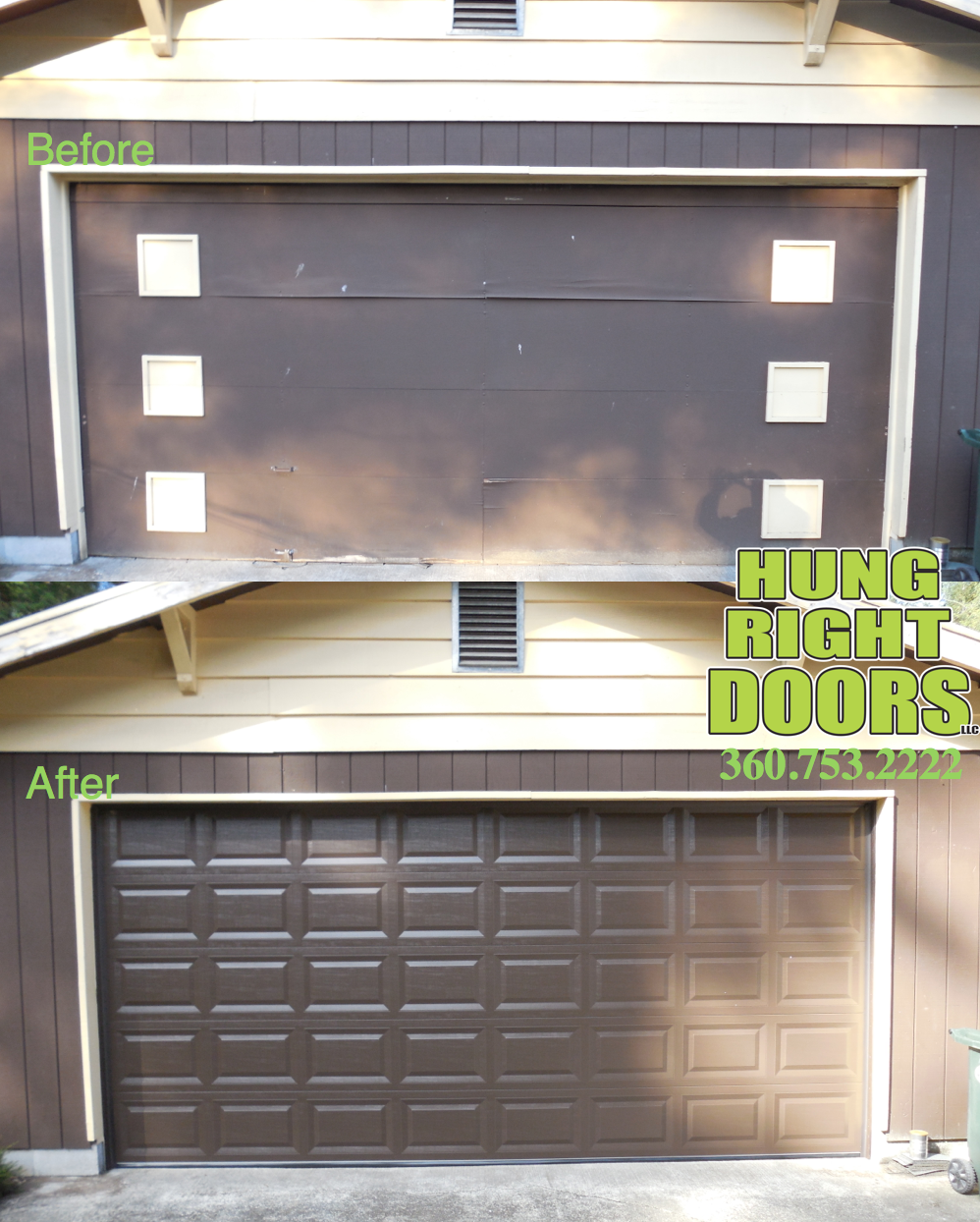 Carriage garage doors without windows  Updating your home is awesome hungrightdoorsllc Clopay