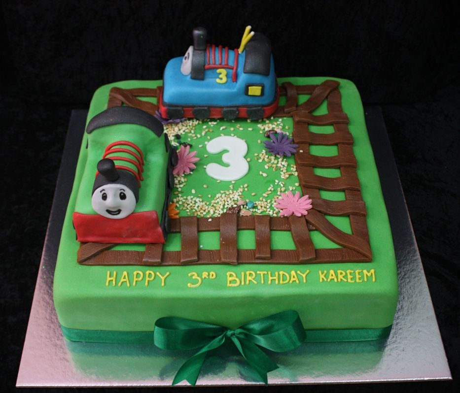 Thomas And Percy Cake House Of Cakes Dubai Cakes Pinterest