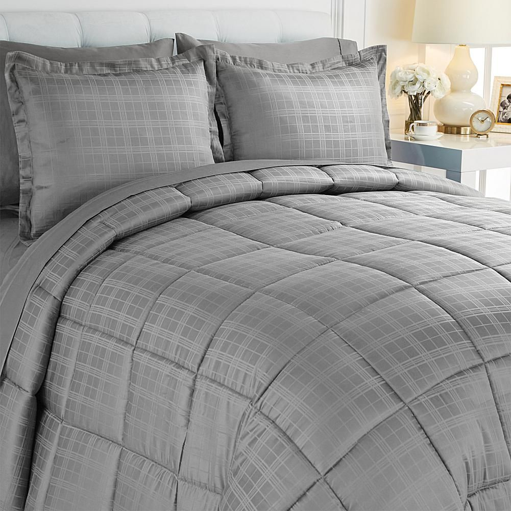 Joy Mangano JOY 7-piece Sheet and Comforter Set with Warm and Cool Temp Technology