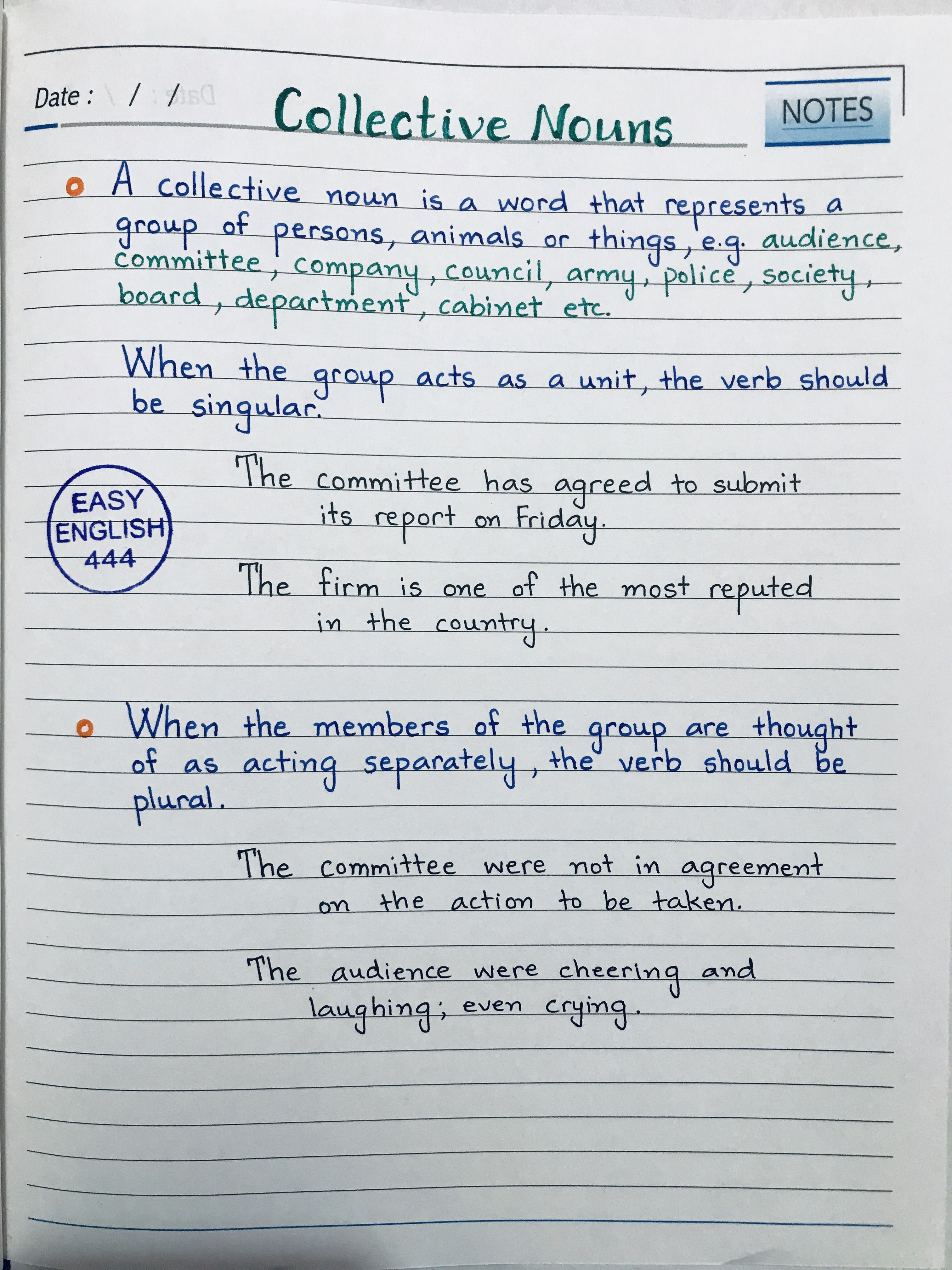 English Grammar In 2020 English Grammar English Grammar Notes English Writing Skills