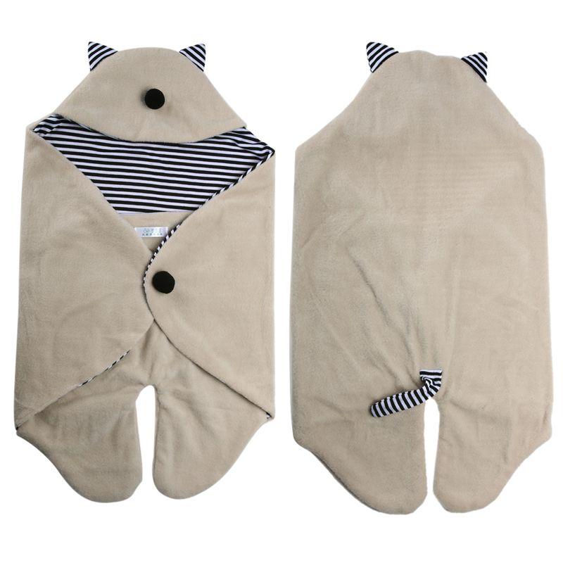 New Born Baby Toddler Sleeping Bag Sleepsack Stroller Wrap Newborn Blanket Swaddle Quilt