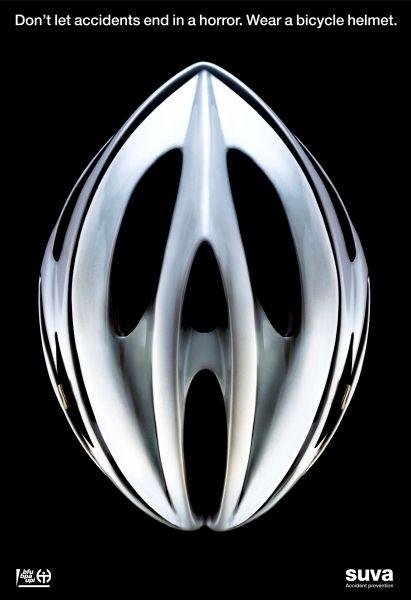 Suva bike helmet ad