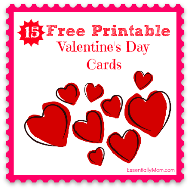 roundup free printable valentine cards for kids free printable