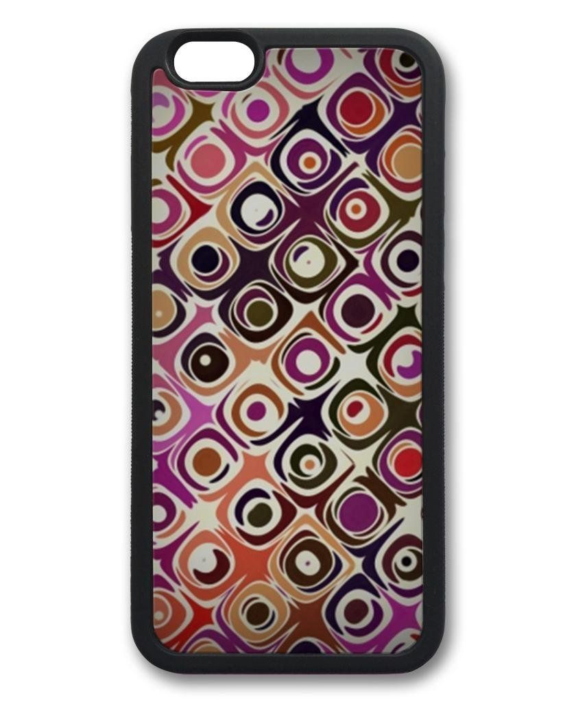 Amazon.com: Colorful Retro Back Case Cover for iPhone 6 (4.7 inch) Black: Cell Phones & Accessories