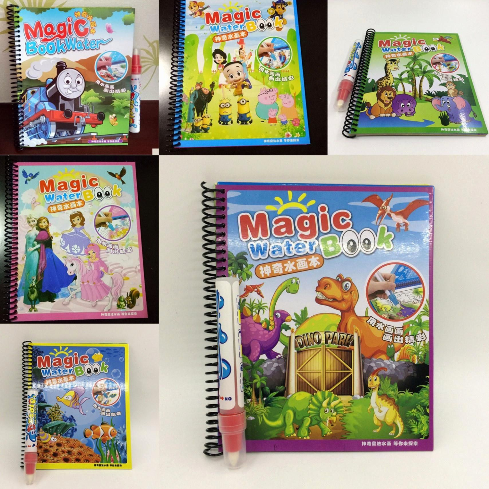 Drawing Book By Smart Bookx Best Of Magic Water Drawing Book Kids Painting Book Water Coloring Drawing Books For Kids Drawing For Kids Cartoon Coloring Pages