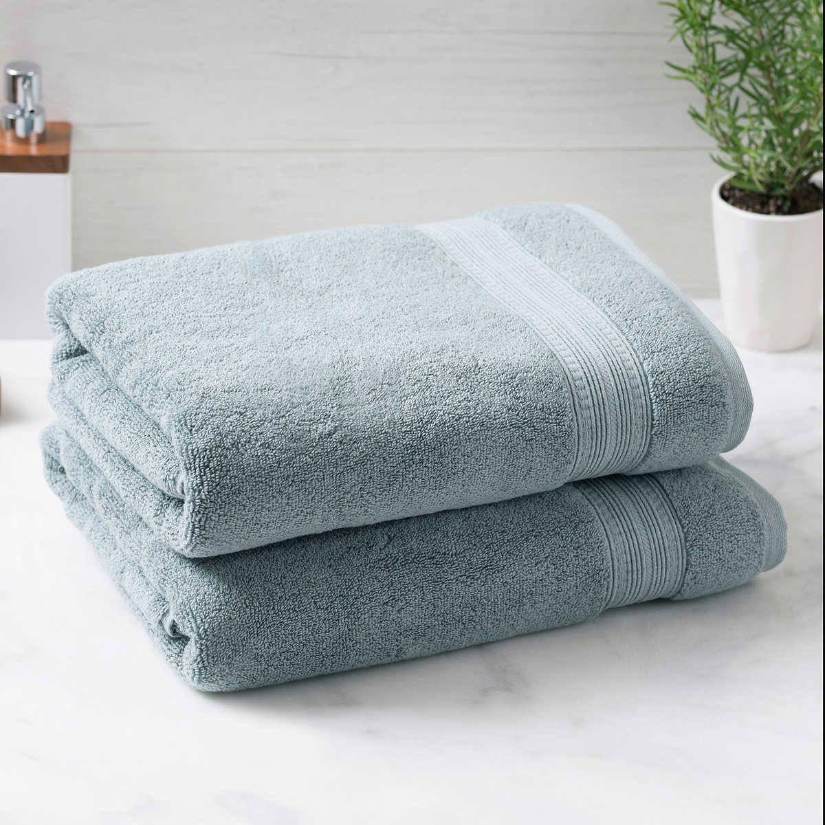 Charisma Soft 100 Hygro Cotton 2 Piece Bath Towel Set Bathroom