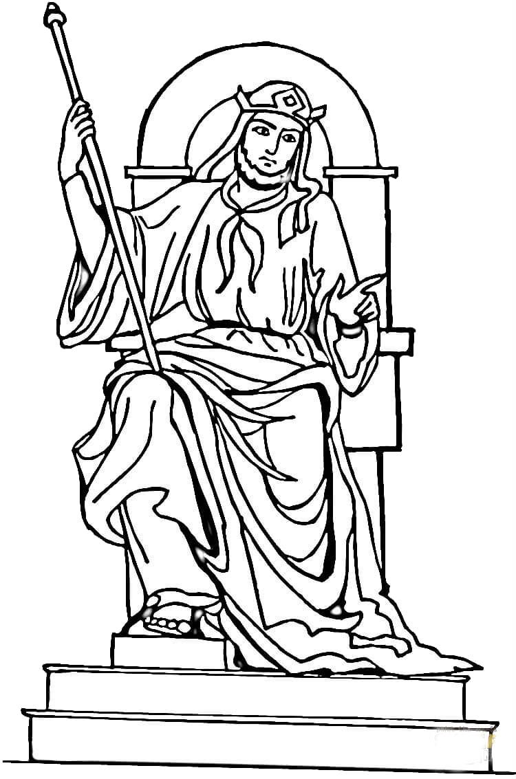 Kings Sitting On The Throne Coloring Pages For Kids Cag Printable Kings Queens And Princesses Coloring Pages For Kids Salomo
