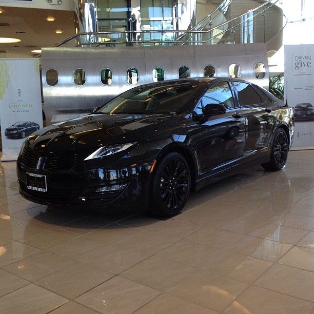 The Only Murdered Out 2015 Lincoln Mkz I Ve Ever Seen Looks