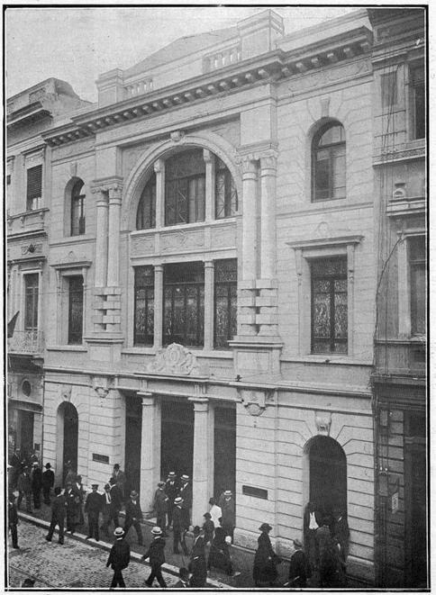 1919 - Banco Commercial de São Paulo na rua 15 de Novembro nº 38.