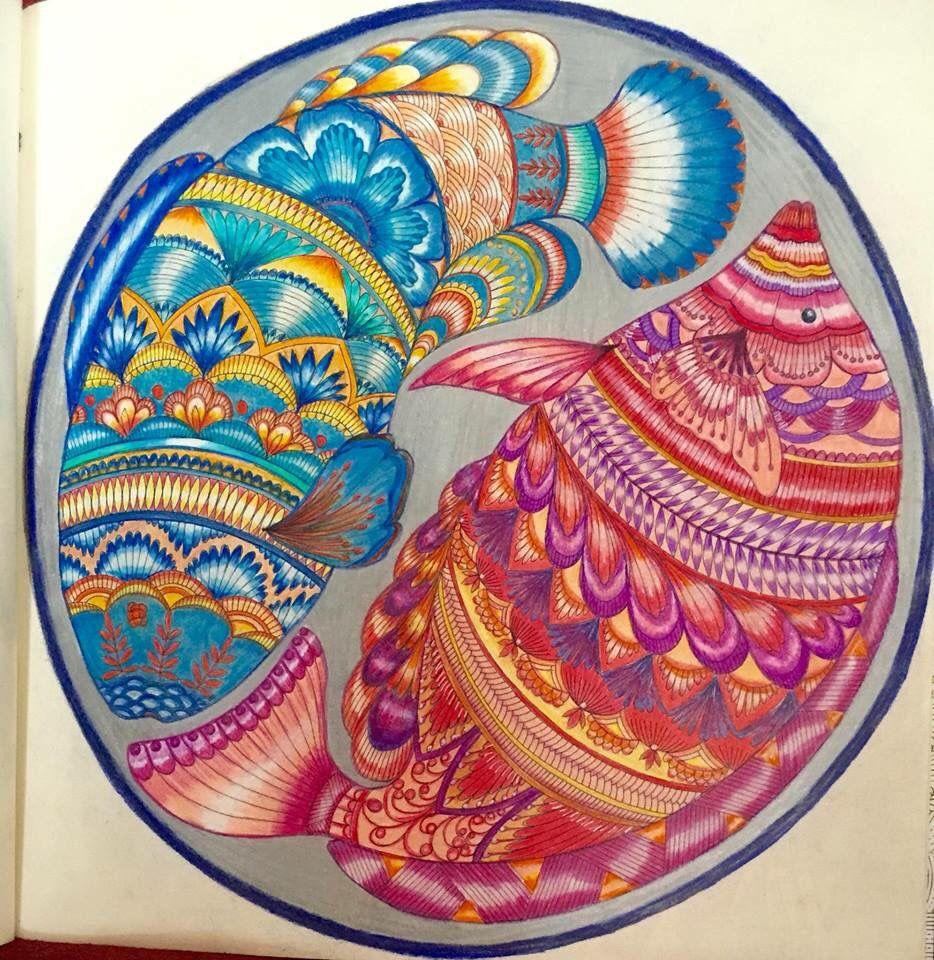Pin By Sugnet Preston On Coloring Books Animal Kingdom Colouring Book Color Pencil Art Millie Marotta Coloring Book
