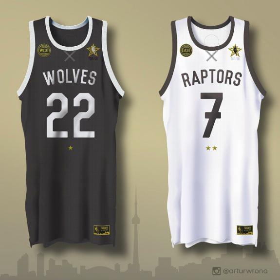 Toronto 2016 NBA All-Star Jerseys Concept  15b104124