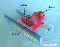 simple electric circuit and a hybrid car boat child s play rh pinterest com Light Bulb and Battery Science Project make a simple electric circuit science project
