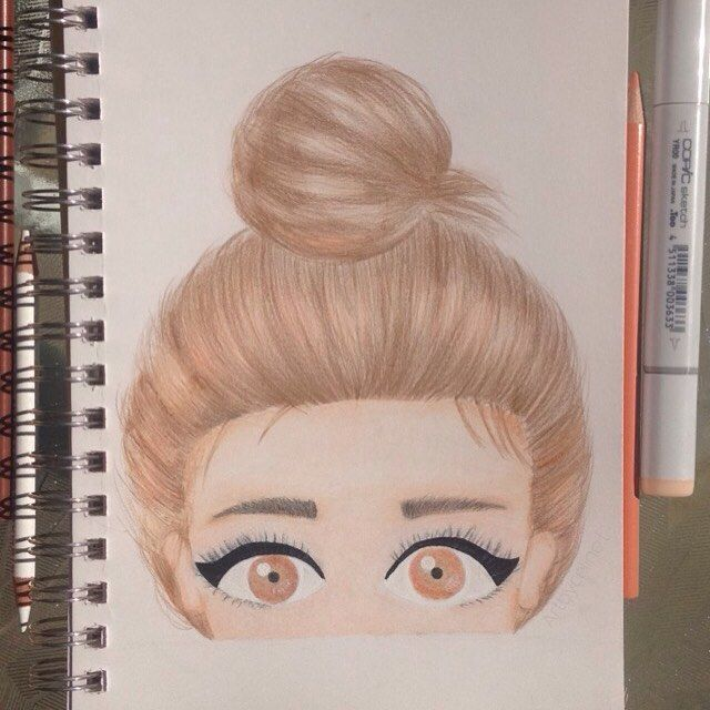 I found this pic on weheartit and just had to draw it. ❥  Instagram: artbyceline.t