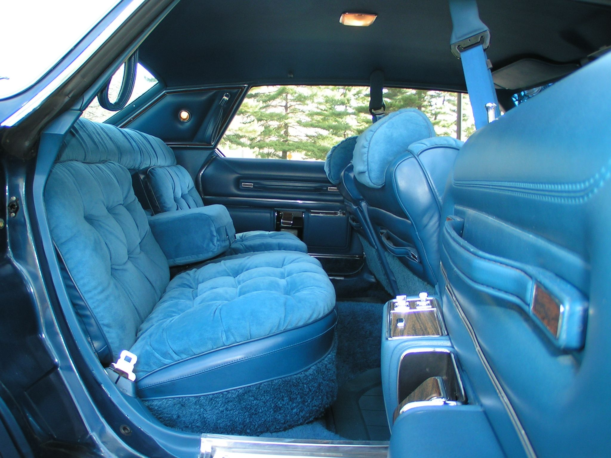 This New Yorker Brougham Interior From The Late 70s Represented A Transplant Of Sorts Of Luxury