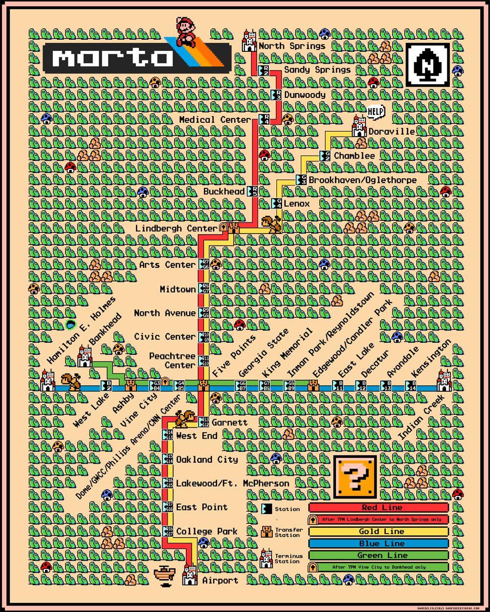 The Atlanta Subway System Marta By Dave Delisle Subway Going