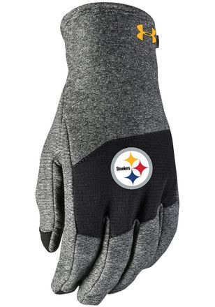 Under Armour Pittsburgh Steelers Survivor Gloves  6e715a989