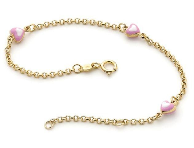 Beautiful Baby And Childrens Jewelry By Italian Designer Piccolo Gold Bracelets