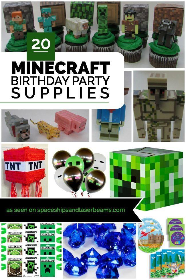 minecraft birthday party supplies minecraft party ideas