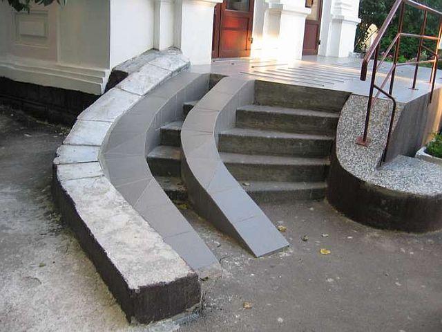 Handicap ramp. | Porch ideas | Pinterest | Handicap ramps, Porch ...